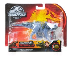 NEW SEALED 2018 Mattel Jurassic World Dino Rivals Protoceratops Action F... - $20.35