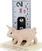 Hagen Renaker Miniature Farm Pig Pink Walking Ceramic Figurine
