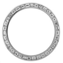 4.20ctw Diamond Baguette G VS1 14K Gold Bezel Rolex Day Date II DateJust II - $7,999.95