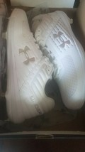 Under armour football cleats size 15 White - $87.99