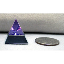 Scholer Smooth Handcut Crystal Pyramid image 3