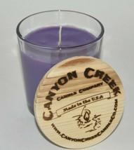 NEW Canyon Creek Candle Company 8oz tumbler LAVENDER jar Handmade! - $23.94