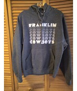 Hoodie size medium color gray and white women - $17.95