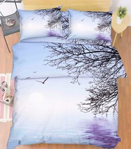 3D Sea Branches Bed Pillowcases Quilt Duvet Cover Set Single Queen King Size AU - $64.32+