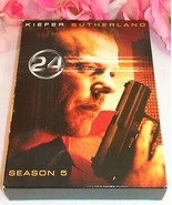 24 Kiefer Sutherland Complete Season Five TV Series Gently Used DVD's 7 ... - $19.99