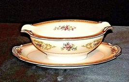 Noritake China Japan (Colby  Pattern # 5032) gravy boat AA19-1489 Vintage