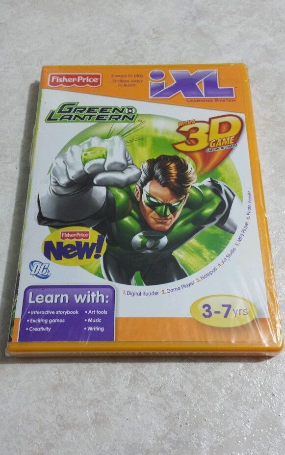 Fisher Price iXL Software - Green Lantern, and 16 similar items