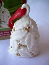 Hallmark Keepsake Ornament 2000 Holly Berry Bell QX8291 - $4.70