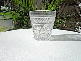 Imperial Glass Ohio Cape Cod Clear Old Fashioned Rocks Glass c 1932-1984 - $15.83