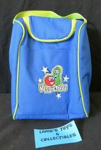 Veggie Tales Bob the Tomato & Larry the Cucumber soft sided lunch tote z... - $19.85
