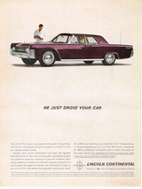 Vintage 1962 Magazine Ad Lincoln For Timeless Beauty and Flawless Engineering - $5.93