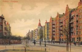 Linnegaden Goteberg Sweden 1907 postcard - $6.93