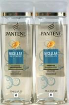 2 Bottles Pantene Pro V 12.6oz Micellar Revitalize Nourish Gentle Purify Shampoo - $20.99