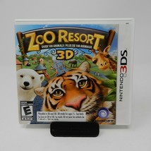 Zoo Resort 3D (Nintendo 3DS, 2011) CIB Complete w/Manual - $13.81
