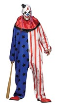 Fun World Böser Clown Maske Erwachsene Herren Halloween Kostüm Standard ... - $38.45