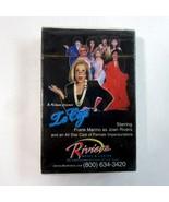 Las Vegas Riviera Hotel & Casino La Cage Female Impersonators Playing Cards - $8.99