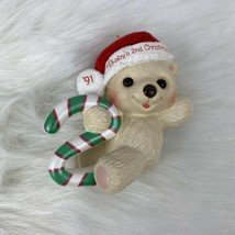 Hallmark Ornament 1991 Child's Age Collection Baby's Second Christmas No... - $6.89