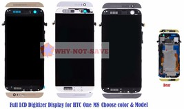 Full LCD Glass Screen digitizer Display assembly Replacement Part for HT... - $68.84+