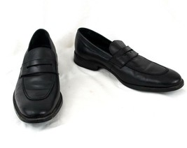 Cole Haan Shoes 9.5 M  Black Leather Penny Loafer C11443 Apron Toe  EU 42.5 - $48.37