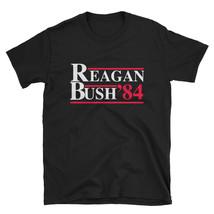 Ronald Reagan George Bush 84 1984 Campaign T Shirt Retro Tee - $17.99+
