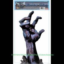 Creepy Horror-ZOMBIE REACHING ARM CLING-Walking Dead Door Window Mirror ... - $4.92