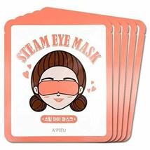 [A'PIEU] Steam Eye Mask 5ea **K-BEAUTY**NEW/SEALED - €13,33 EUR