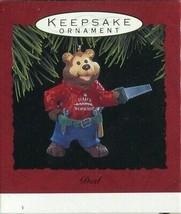 1993 - New in Box - Hallmark Christmas Keepsake Ornament - Dad - $1.97