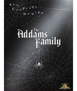 The Addams Family - Complete Series (DVD, 2007, 9-Disc Set) Halloween Cl... - $29.95