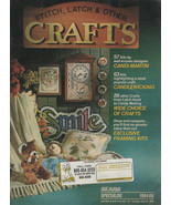 Stitch, Latch & Other CRAFTS Sears 1984/85 Catalog - $3.99