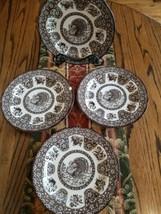 "SPODE -""FESTIVAL"" Plate/Pasta Bowl -10.5""- Turkey- Thanksgiving- Lot of ... - $79.19"