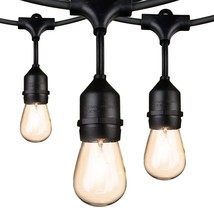 Outdoor String Lights 48Ft Edison Vintage Commercial Grade Lights with 1... - €33,48 EUR