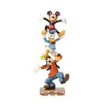 "8.75"" ""Teetering Tower "" Goofy, Donald Duck, Mickey Mouse"