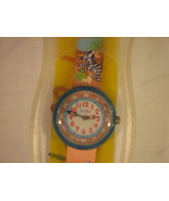 Flik Flak Watch Kids Size Zebra Band - $9.79
