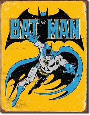 Batman Super Hero DC Comics Metal Sign Tin New Vintage Style USA #1357