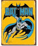 Batman Super Hero DC Comics Metal Sign Tin New Vintage Style USA #1357 - $10.29