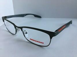 New PRADA Sport VPS 54D SML-1O1 Clubmaster 51mm Gray Men's Eyeglasses Frame - $149.99