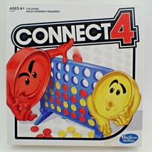 Connect 4 Game Four In A Row Checkers Hasbro 2016 Family Fun Kids Childr... - $17.79