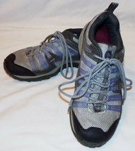 Merrell Blue Gray Sneakers Athletic Shoes 6 Womens Payette Periwinkle Pe... - $37.69
