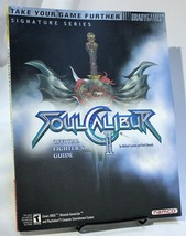 Soul Calibur II Strategy Guide Hint Book Brady Games Namco W Poster Xbox... - $29.02