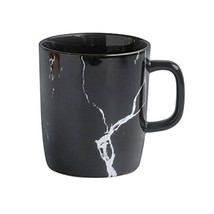 Joint Victory Porcelain Mugs - 14 Ounce Marble Pattern Ceramics Cup with... - $17.83