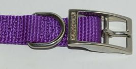Valhoma 730 16 PR Dog Collar Purple Single Layer Nylon 16 inches Package 1 image 3