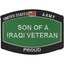 U.S. Army Son of a Iraqi Veteran Patch - PROUD - $9.89