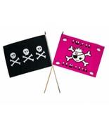 "12x18 12""x18"" Wholesale Combo Pirate Chris Condent & Pink Princess Stick Flag - $7.77"