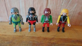 4 PLAYMOBIL Asst  FIGURES   - $8.90