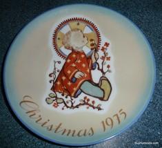 "Sister Berta Hummel ""Christmas Child"" Christmas Plate, 1975 Limited Edit... - $9.69"