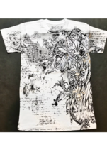 Konflic Giant Cross Biker MMA UFC Men's T Shirt - For The Gods - Multipl... - $18.95