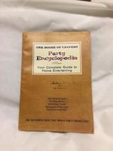 The House of Calvert Party Encyclopedia: Your Complete Guide to Entertai... - $4.95