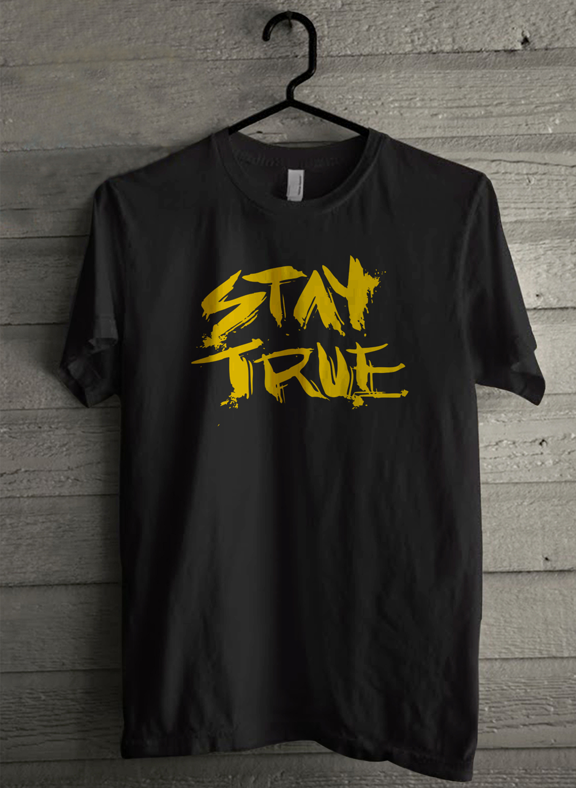 Stay True - Custom Men's T-Shirt (1228)