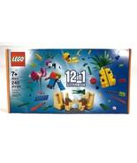 Lego 12 in 1 Creative Fun (40411) Brand New, Sealed!! 240 pcs 7+ NIB - $9.79