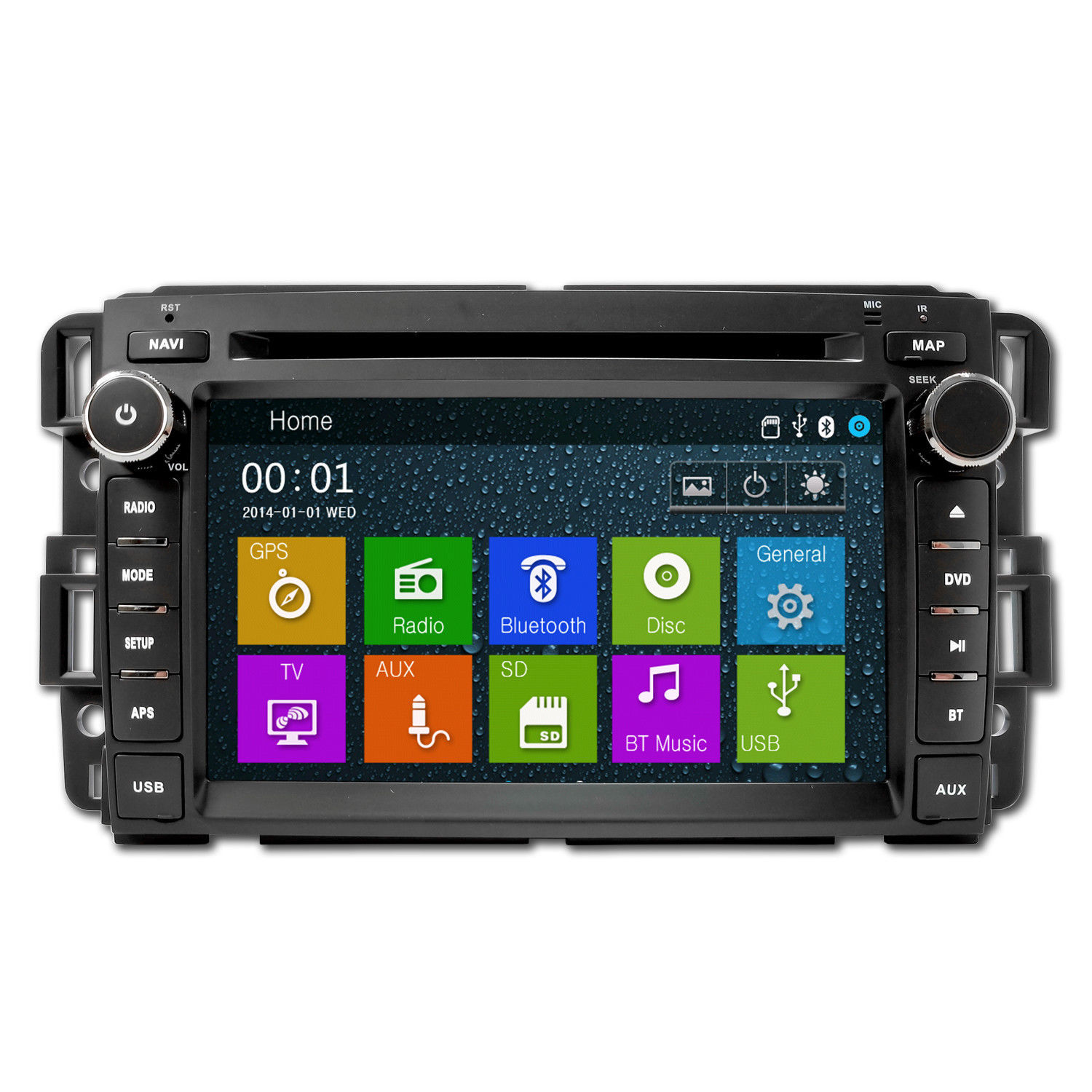 DVD Navigation Touchscreen Multimedia Radio for 2011 GMC Denali